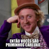 ENTÃO VOCÊS SÃO PRIMINHOS CARLUXO...