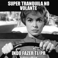 SUPER TRANQUILA NO VOLANTEINDO FAZER TJ/PR