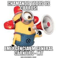 CHAMANDO TODOS OS CARROS!EMERGÊNCIA EM GENERAL CARNEIRO - MT