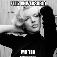 FELIZ ANIVERSÁRIOMR TED