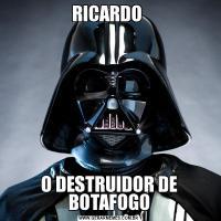 RICARDO O DESTRUIDOR DE BOTAFOGO