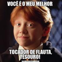VOCÊ É O MEU MELHOR TOCADOR DE FLAUTA, TESOURO!