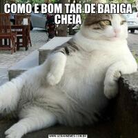 COMO E BOM TAR DE BARIGA CHEIA