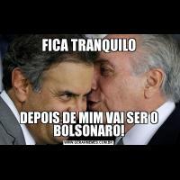 FICA TRANQUILODEPOIS DE MIM VAI SER O BOLSONARO!