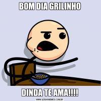 BOM DIA GRILINHODINDA TE AMA!!!!