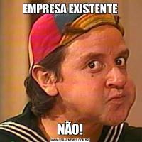 EMPRESA EXISTENTENÃO!