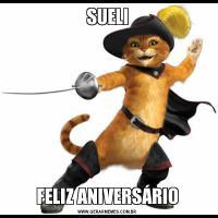 SUELIFELIZ ANIVERSÁRIO