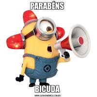 PARABÉNS BICUDA