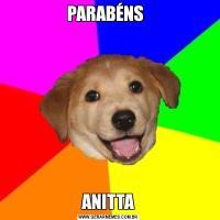 PARABÉNS  ANITTA
