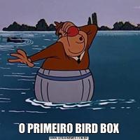 O PRIMEIRO BIRD BOX