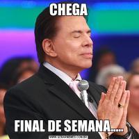 CHEGAFINAL DE SEMANA.....