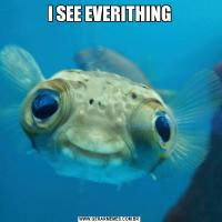 I SEE EVERITHING