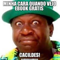 MINHA CARA QUANDO VEJO EBOOK GRÁTIS CACILDES!