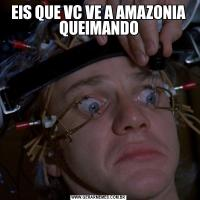 EIS QUE VC VE A AMAZONIA QUEIMANDO