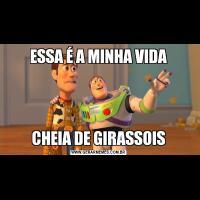 ESSA É A MINHA VIDACHEIA DE GIRASSOIS