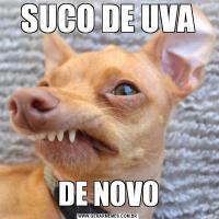 SUCO DE UVADE NOVO