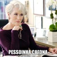 PESSOINHA CAFONA