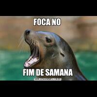 FOCA NO FIM DE SAMANA