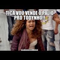 TICA VOU VENDE O PALIO PRO TODYNHO!!