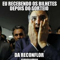 EU RECEBENDO OS BILHETES DEPOIS DO SORTEIO DA RECONFLOR
