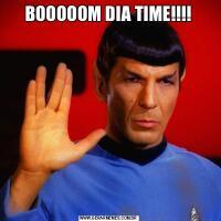 BOOOOOM DIA TIME!!!!