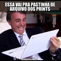 ESSA VAI PRA PASTINHA DE ARQUIVO DOS PRINTS
