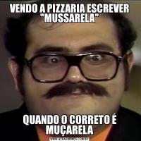 VENDO A PIZZARIA ESCREVER