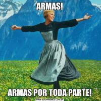 ARMAS!ARMAS POR TODA PARTE!