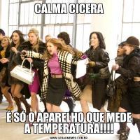 CALMA CICERAÉ SÓ O APARELHO QUE MEDE A TEMPERATURA!!!!