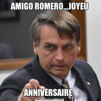 AMIGO ROMERO...JOYEUANNIVERSAIRE