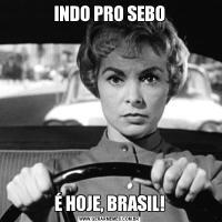 INDO PRO SEBOÉ HOJE, BRASIL!