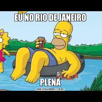 EU NO RIO DE JANEIROPLENA
