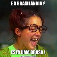 E A BRASILÂNDIA ?ESTÁ UMA BRASA !