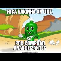 FAÇA VAKINHA ON LINE. PRA COMPRAR ANABOLIZANTES