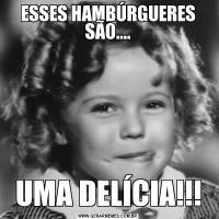 ESSES HAMBÚRGUERES SÃO....UMA DELÍCIA!!!
