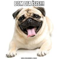 BOM DIA ÍSIS!!!