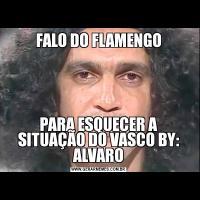 FALO DO FLAMENGOPARA ESQUECER A SITUAÇÃO DO VASCO BY: ALVARO