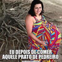 EU DEPOIS DE COMER AQUELE PRATO DE PEDREIRO