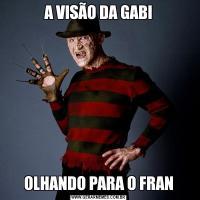 A VISÃO DA GABIOLHANDO PARA O FRAN