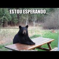 ESTOU ESPERANDO...