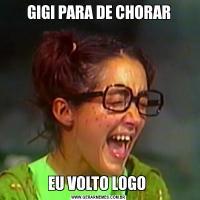 GIGI PARA DE CHORAREU VOLTO LOGO