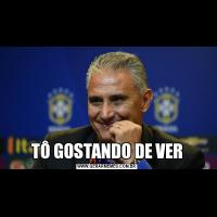 TÔ GOSTANDO DE VER