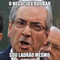 O NEGÓCIO É ROUBARSOU LADRÃO MESMO