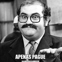 APENAS PAGUE