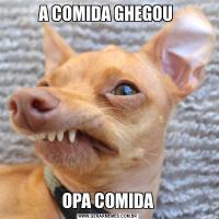 A COMIDA GHEGOU OPA COMIDA