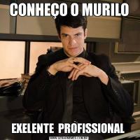 CONHEÇO O MURILOEXELENTE  PROFISSIONAL