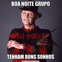 BOA NOITE GRUPOTENHAM BONS SONHOS