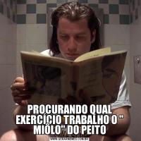 PROCURANDO QUAL EXERCÍCIO TRABALHO O ' MIÔLO' DO PEITO