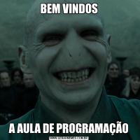 BEM VINDOSA AULA DE PROGRAMAÇÃO
