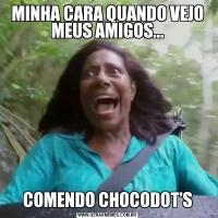 MINHA CARA QUANDO VEJO MEUS AMIGOS...COMENDO CHOCODOT'S